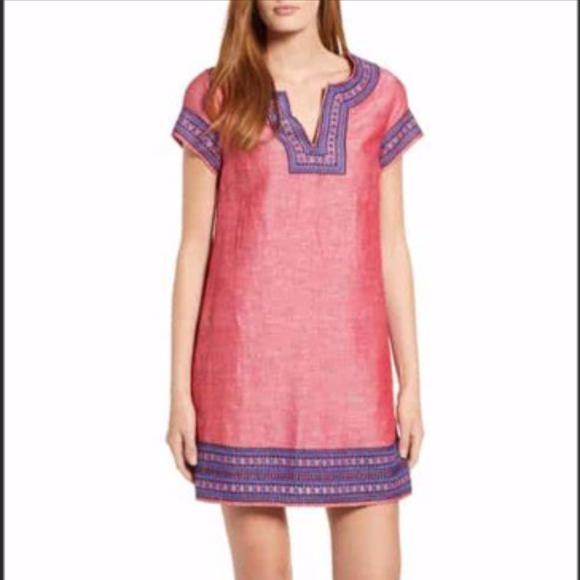 41dcb32bd41 Vineyard Vines Dresses | Nwt Island Embroidered Tunic | Poshmark